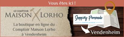 Vous êtes au Comptoir Maison Lorho, fromagerie du Shopping Promenade à Vendenheim